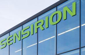 Small sensirion the sensor company header
