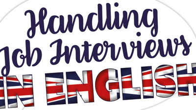 Middle handling job interviews in english