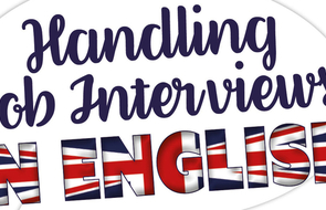 Small handling job interviews in english